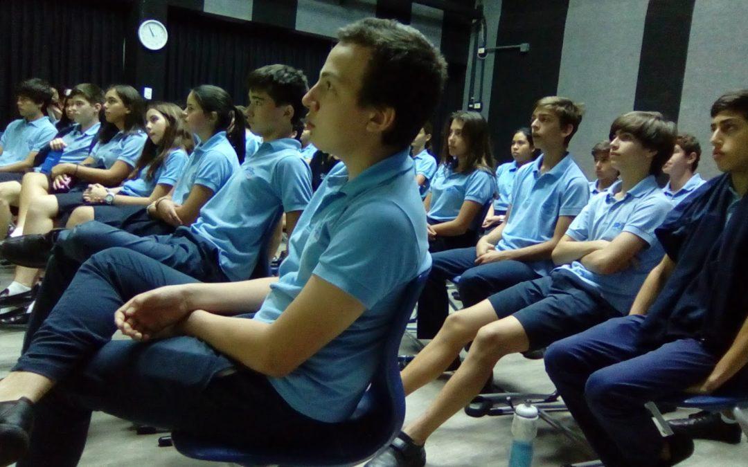 Dos charlas sobre el Holocausto en el Colegio Británico de Caracas