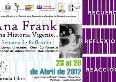 II Semana de Reflexión, 2012